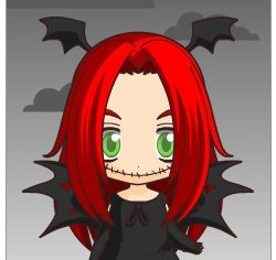 The Spooky Red Head